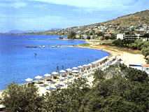 παραλία του Mαραθώνα